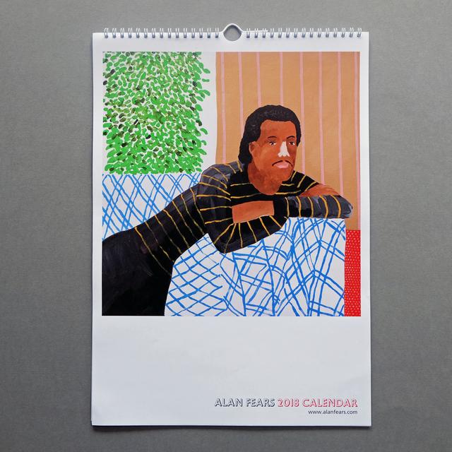 , 'Alan Fears 2018 A3 Calendar,' 2017, Fears and Kahn
