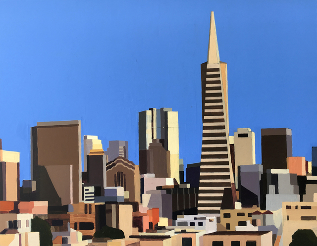 , 'San Francisco: Panorama,' 2014, Sue Greenwood Fine Art