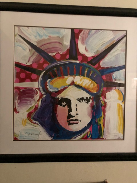 Peter Max, 'Liberty 2000 III - Limited Edition Lithograph by Peter Max', 2000, Print, Lithograph, Newport Brushstrokes Fine Art