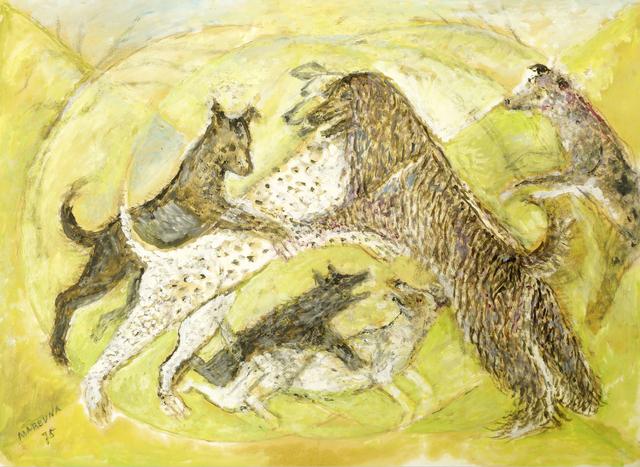 Marie Vorobieff Marevna, 'Dogs in Ealing', 1975, Roseberys