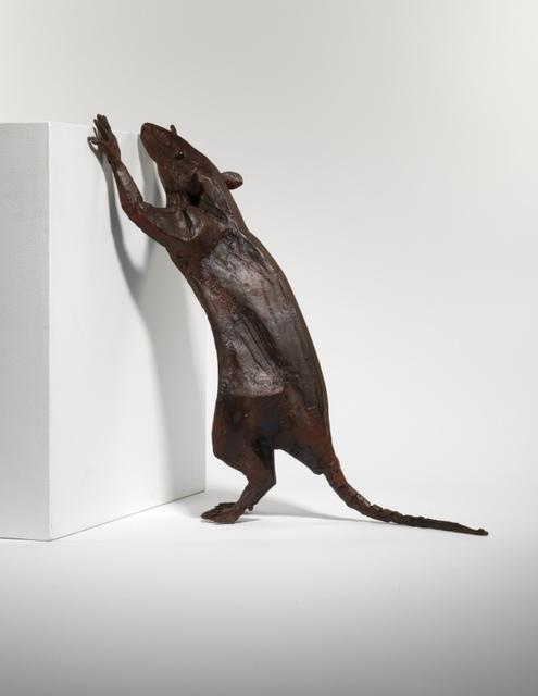 Sophie Dickens, 'Rat 4, Climbing up.', 2019, Sculpture, Bronze, Sladmore