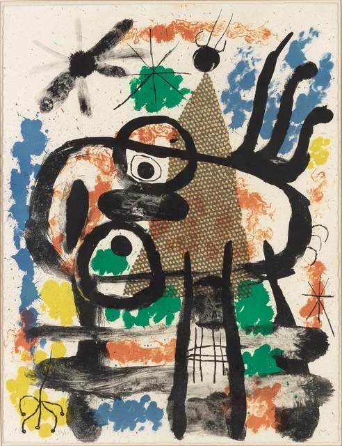 Joan Miró, 'Album 19, Planche 5 (M. 248)', 1961, Doyle