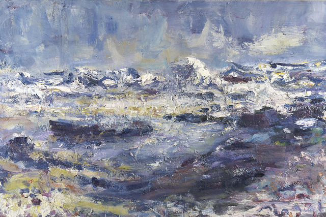 , 'Seventh February Foam Waves,' , The Scottish Gallery