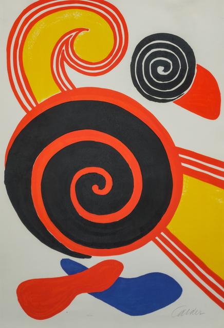 Alexander Calder, 'La Vague', Hindman