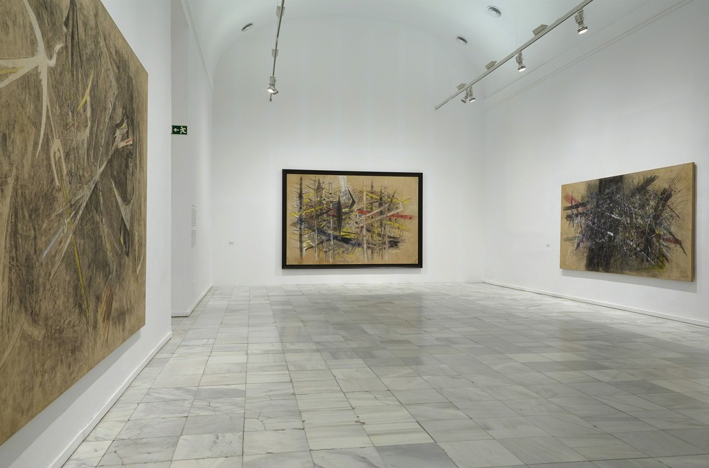 "Installation view of ""Wilfredo Lam"" at Museo Reina Sofía, Madrid (2016)"