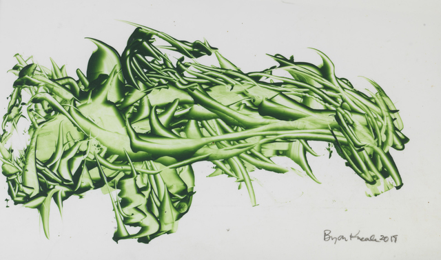 Bryan Kneale, 'Movement in Green I', 2018, Pangolin London