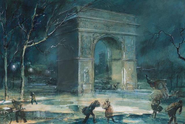 , 'The Arch, Washington Square,' 1929, Questroyal Fine Art