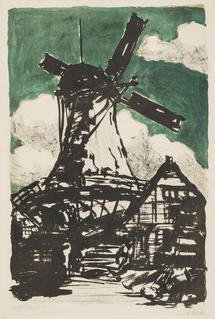 , 'Big Windmill,' 1907, Galerie St. Etienne