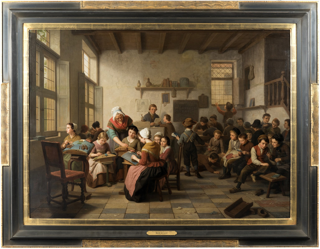 , 'The Schoolroom Brussels,' 1863, Anthony's Fine Art