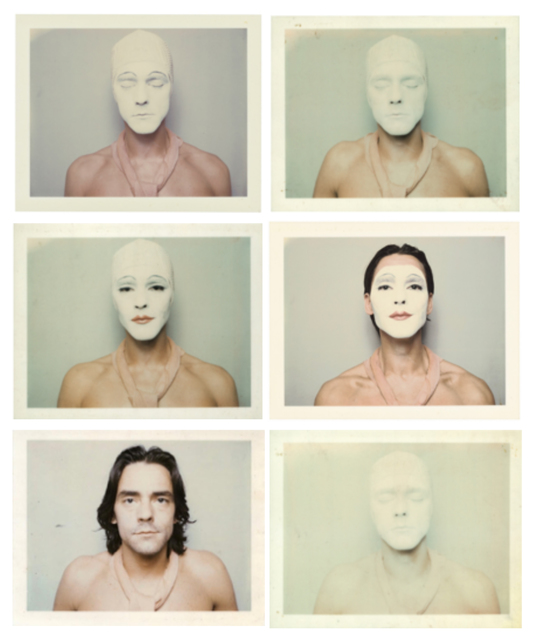 , 'White Mask,' 1973, Richard Saltoun