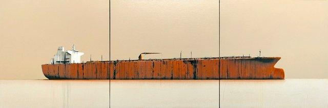Stéphane Joannes, 'Tanker 38 (triptych)', 2018, Massey Klein Gallery