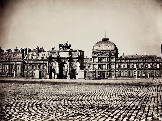Gustave Le Gray, 'Palais des Tuileries, Place du Carrousel, Arc de Triomphe et Façade Est, Paris', 1856, Contemporary Works/Vintage Works