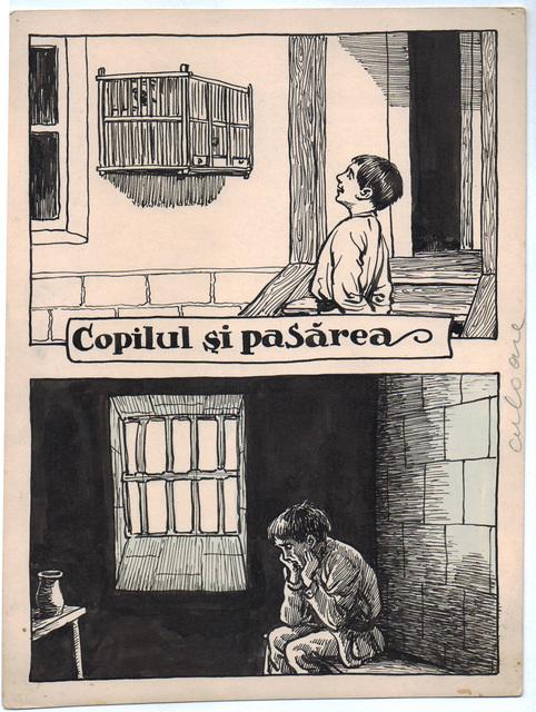 , 'Copilul si pasarea,' 1922-1927, Nasui Collection & Gallery