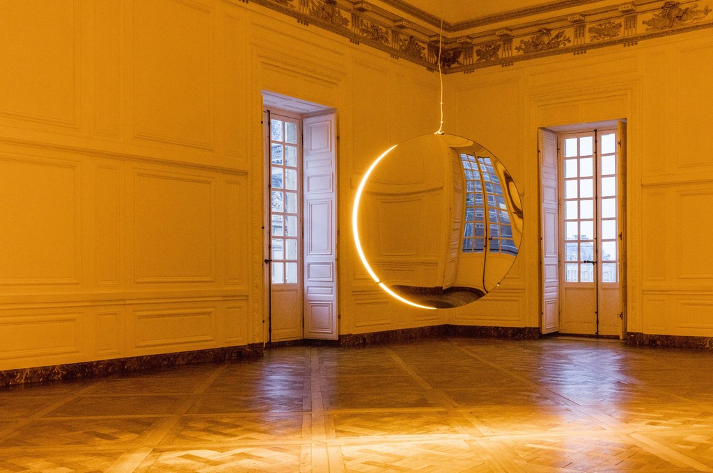 "Installation view of ""Olafur Eliasson"" at Château de Versailles, Versailles (2016) Photo: Anders Sune Berg