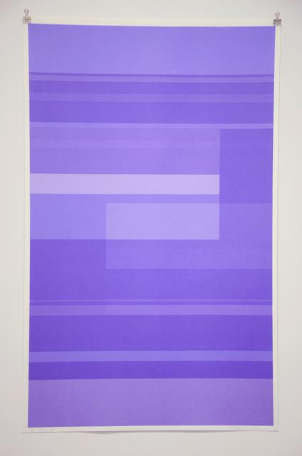 , 'Protest Violet ,' 2016, Minus Space