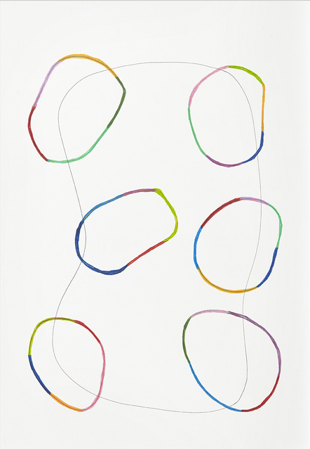 , 'from the series 'Lines on a walk' XI,' 2014, Kasia Michalski Gallery
