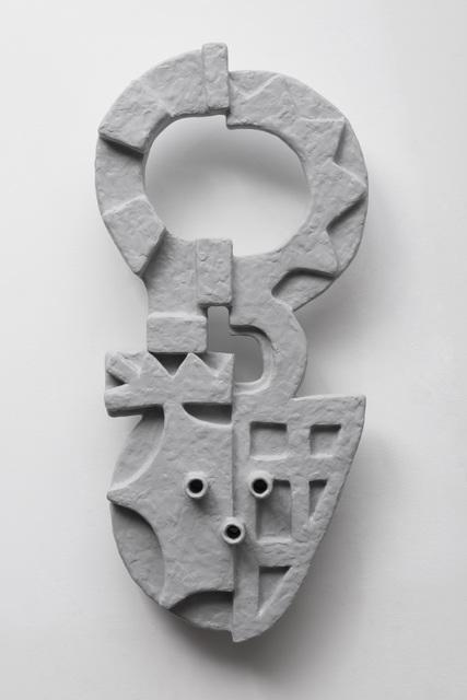 , 'Relief (Mask I),' 2017, PRAZ-DELAVALLADE