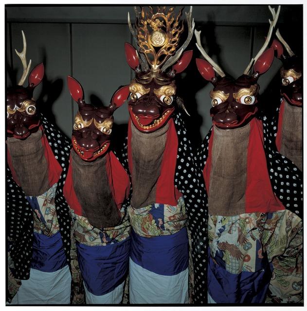 , 'Shikaodori (Deer Dance) in Natsuya Area, Kawai Village, October 2009, Miyako, Iwate Prefecture,' 2009, Japan Society