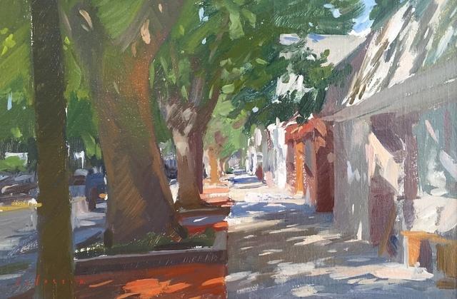 , 'Amagansett Sidewalk,' 2018, Grenning Gallery