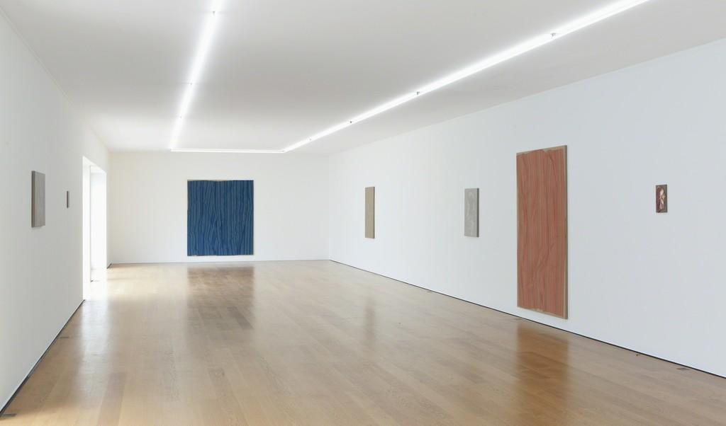 Installation view Helene Appel at Galerie Rüdiger Schöttle, 2017. Photo: Wilfried Petzi.