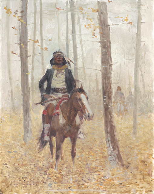 Ernest Chiriacka, 'Geronimo at Rest', 1984, Casweck Galleries