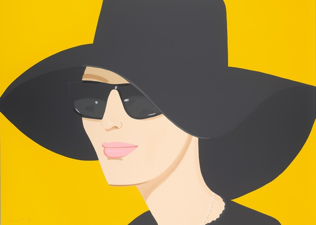 Alex Katz, 'Ulla in Black Hat', 2010, Galerie Schimming