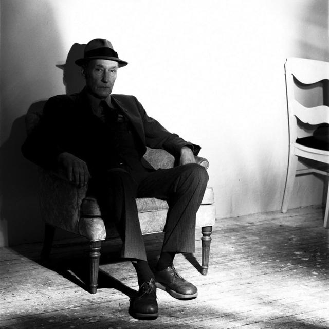 , 'William S. Burroughs,' 1985, ClampArt