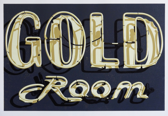 , 'Gold Room,' 2015, Sue Greenwood Fine Art