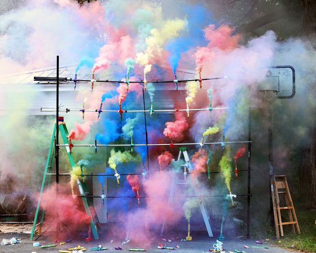 , 'Smoke Bombs 2,' 2011, Metro Pictures