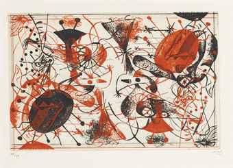 , 'Serie Noire et Rouge,' 1938, Galerie Maximillian