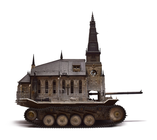 Kris Kuksi, 'Churchtank Type 15', 2019, Joshua Liner Gallery