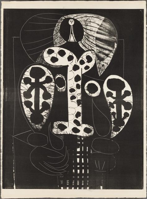Pablo Picasso, 'LA FEMME AU FAUTEUIL (Woman in Armchair)', 1948, Christopher-Clark Fine Art