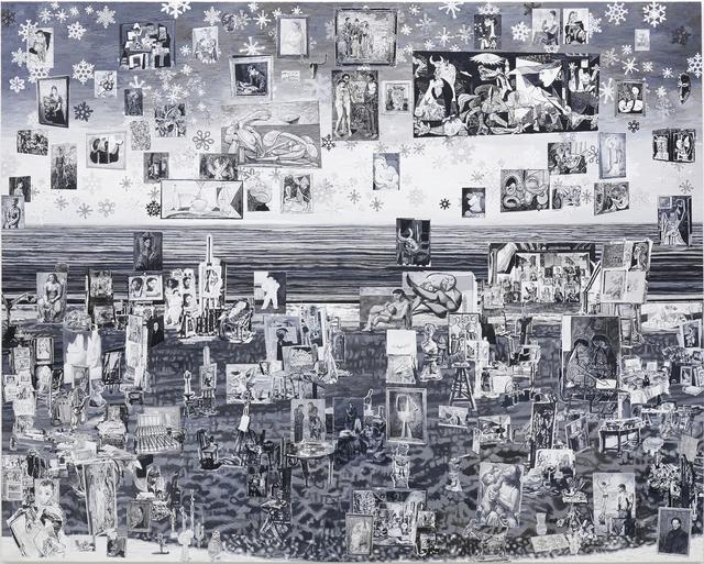 , 'Pablo Picasso's Studio,' 2017, Tomio Koyama Gallery