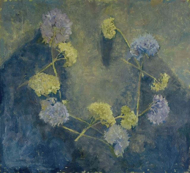 , 'Ring of Blue Hydrangea in the Pale Light,' 2018, Les Yeux du Monde Gallery