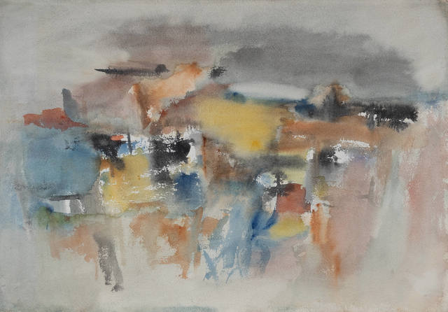 Michael Loew, 'Untitled #290', Painting, Watercolor on arches paper, Capsule Gallery Auction