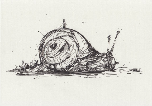 , 'Slow Drinker,' 2018, GCA Gallery