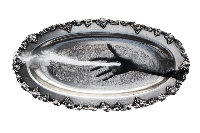 Marie-Josée Roy, 'Sans compter', 2019, Sculpture, Mixed Media on Silver Plate, Thompson Landry Gallery