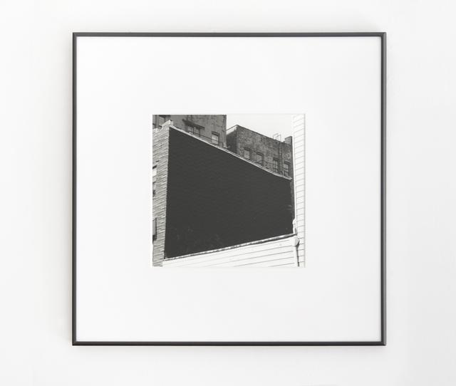 , 'Wall #3,' 2014, Muriel Guépin Gallery