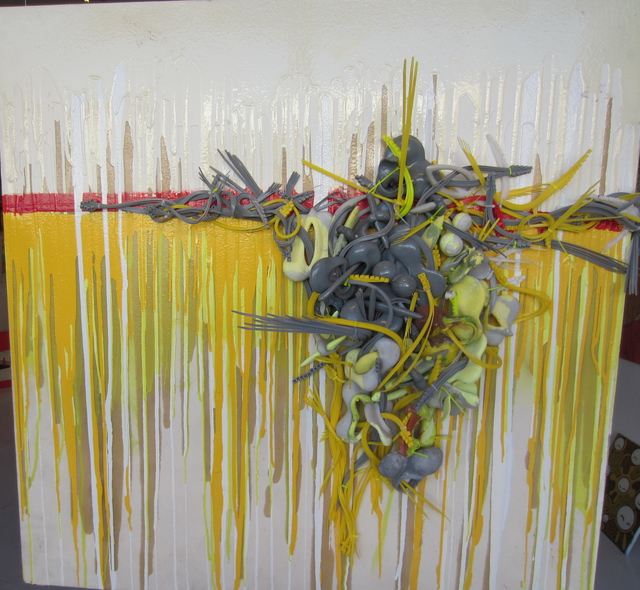 """Duane Paul, '""""Conflicted"""" Mixed Media On Canvas', 2010-2019, Wallspace"""