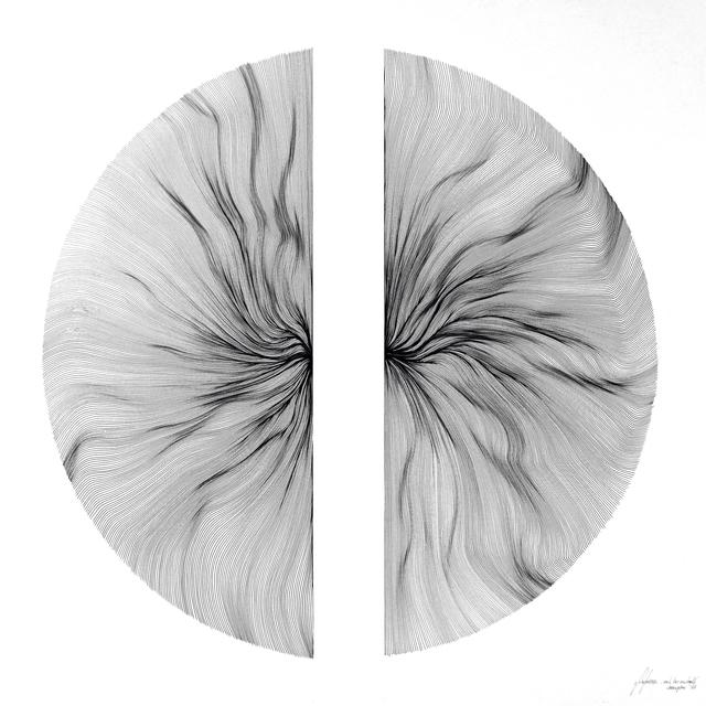 , 'Each Line One Breath - Hemisphere,' 2017, PARKVIEW ART Hong Kong