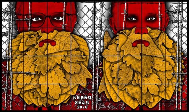 , 'Beard Fear,' 2016, Alfonso Artiaco