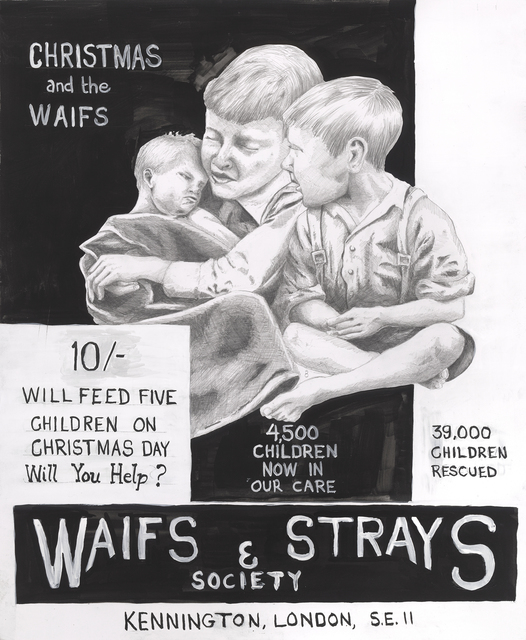 , 'Christmas and the Waifs,' 2016, Maus Contemporary
