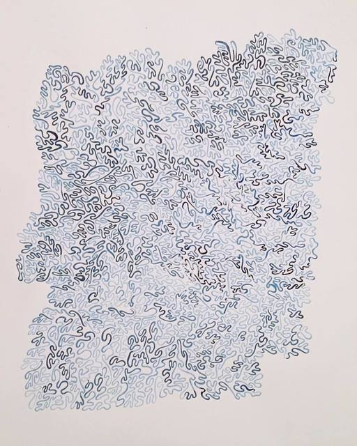 , 'Dreamlines (entry I),' 2016, Sabrina Amrani