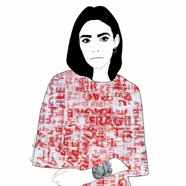 Ramona Russu, 'The girl with black hair/ Fragile 5', 2019, Artig Gallery