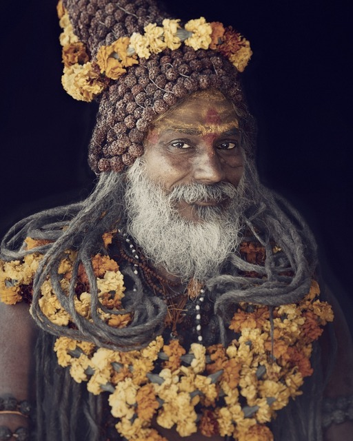 , 'XXIV 11  Sadhu, Haridwar, India  ,' 2016, Willas Contemporary