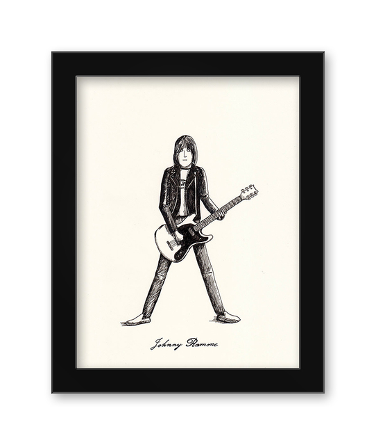 , 'Johnny Ramone,' 2017, Spoke Art