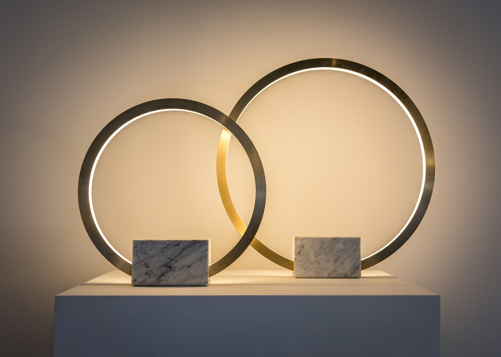 Christopher Boots Portal Table Lamps