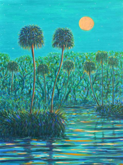 , 'Twilight Moonrise,' 2019, 530 Burns Gallery