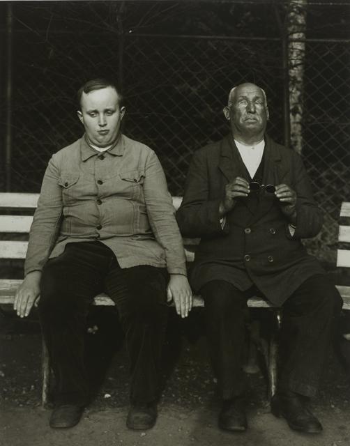 , 'Blind People,,' ca. 1930, Galerie Julian Sander