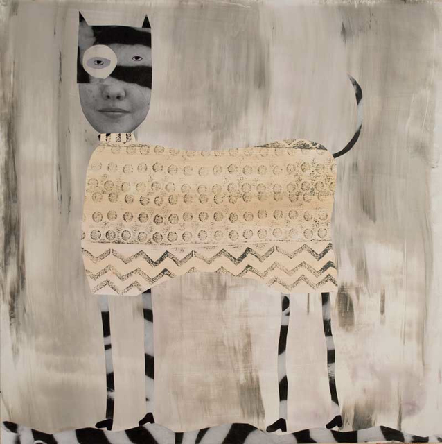 , 'Spotted Cat with Stripes,' 2018, Craig Krull Gallery